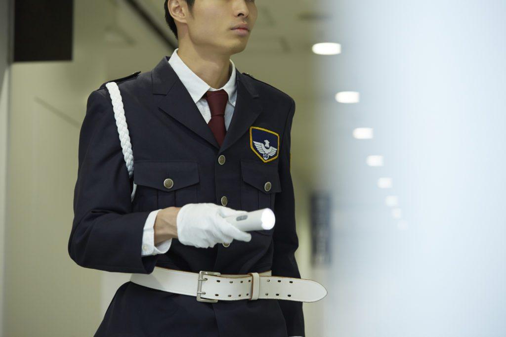 防犯の警備員は頼れるガードマン