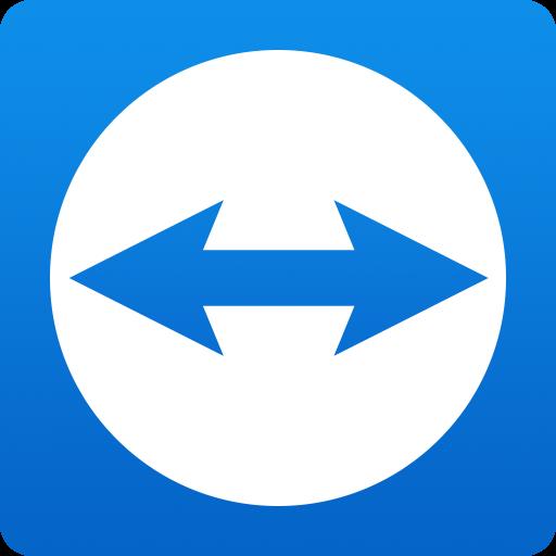 teamviewerでリモートアクセスロゴ