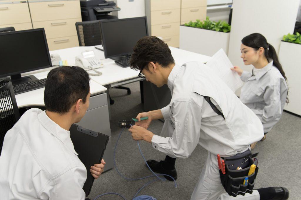 LAN配線工事は埼玉のベストプランナー