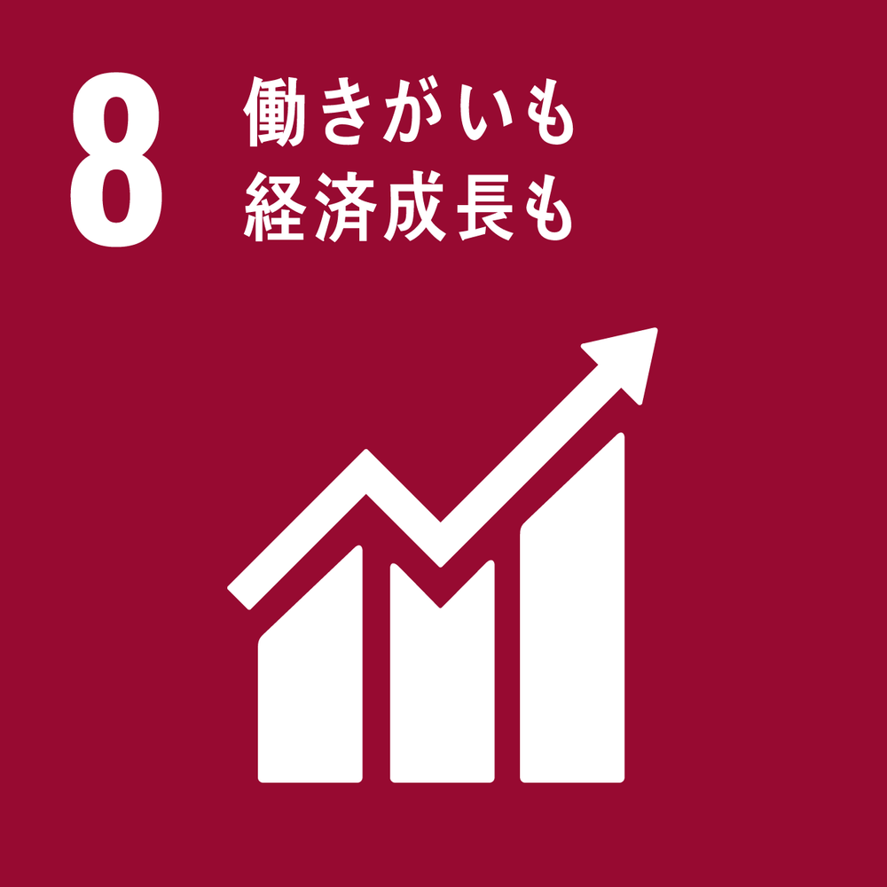 SDGs17のゴール_8